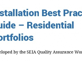 Lanzan una guía de buenas prácticas para la instalación de sistemas fotovoltaicos residenciales