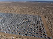 Inauguran la mayor planta fotovoltaica de uso militar