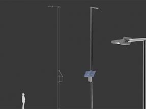Ekiona lanza una farola solar de alta capacidad lumínica