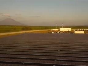 Inauguran una planta fotovoltaica con el sistema de almacenamiento de energía más grande de Centroamérica