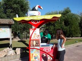 Carritos de helados que funcionan con energía solar