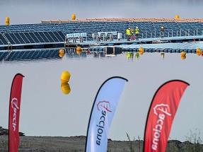 La planta flotante de Acciona lleva inversores Huawei