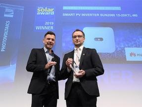 El inversor inteligente de Huawei SUN2000 15-20KTL-M0 gana uno de los premios Intersolar