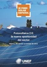 Hoy empieza el III Foro Solar Español