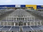 Los paneles solares de REC cubren las tiendas de IKEA en España
