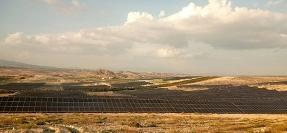 La mayor planta fotovoltaica de Europa va tomando forma en Murcia