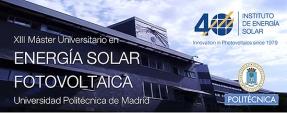 Ya está abierta la inscripción para el Máster en Energía Solar Fotovoltaica de la UPM