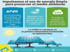 La Universidad Tecnológica de la Riviera Maya instala un sistema fotovoltaico que cubre el 85 % de sus necesidades eléctricas
