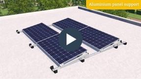 ValkSolar lanza el soporte de paneles de aluminio ValkPro+