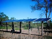Instalan un sistema de bombeo de agua fotovoltaico