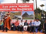 Lanzan un programa de electrificación fotovoltaica hogareña