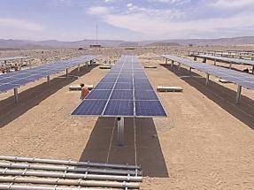 Gamesa Electric provee los inversores de la recién inaugurada planta fotovoltaica Intipampa
