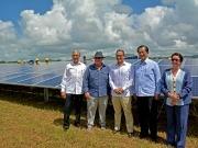 Inauguran una planta fotovoltaica de 30 MW