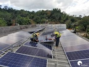 Soltec dona equipamiento solar a Puerto Rico tras el huracán María