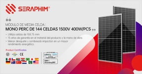 Seraphim suministrará 183 MW para proyectos en Filipinas