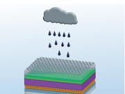 Paneles solares que generan electricidad incluso cuando llueve