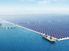 India lanza el primer programa de energía solar flotante del mundo