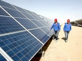 La contaminación también afecta a los paneles solares