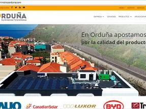 Suministros Orduña lanza su nueva web
