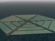 Llega la isla solar flotante