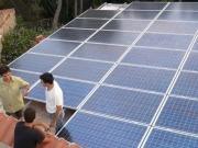Solo 8 de los aproximadamente 46 megavatios de autoconsumo solar se han inscrito en el registro