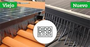 Van der Valk Solar Systems lanza una versión mejorada de su bloqueador de pájaros BirdBlocker