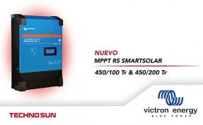 Victron Energy presenta SmartSolar MPPT RS, un regulador solar para grandes instalaciones