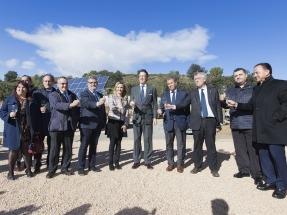 Viñas del Vero demuestra las ventajas de usar renovables en los viñedos
