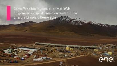 En operaciones Cerro Pabellón, la primera planta geotérmica de Sudamérica