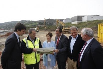 Alstom comienza la construcción de sus nuevas instalaciones industriales en Vizcaya
