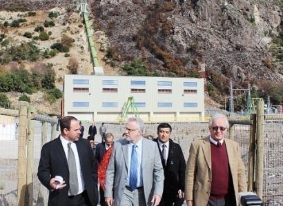 Colbún: Inauguran una minihidráulica de 5 MW