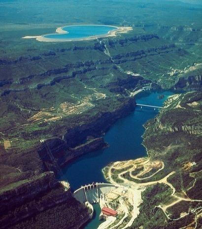 Cortes-La Muela, la mayor central de bombeo de Europa, se pone en marcha