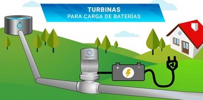 Turbinas hidráulicas para redes de abastecimiento de agua y regadío