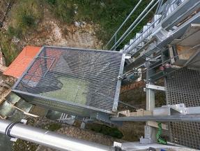 Un ascensor para los salmones del río Nansa