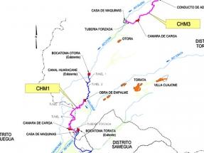 Un consorcio peruano-español construirá las centrales hidroeléctricas Moquegua 1 y 3, que suman 34 MW