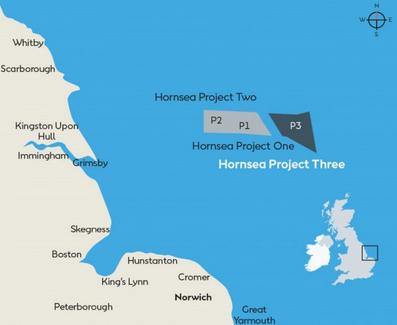 Reino Unido da luz verde a la tercera fase del mayor parque eólico offshore del mundo