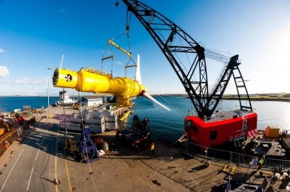 Alstom presenta en Bilbao sus turbinas submarinas