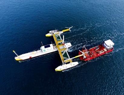 CANADÁ: En operaciones la primera plataforma que genera energía con el movimiento de las mareas