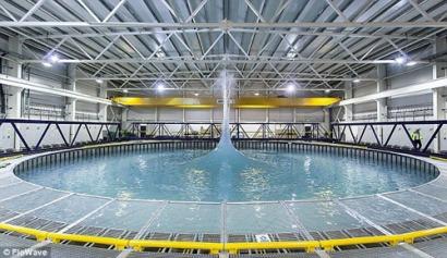 El Reino Unido inaugura un nuevo simulador total para energías marinas