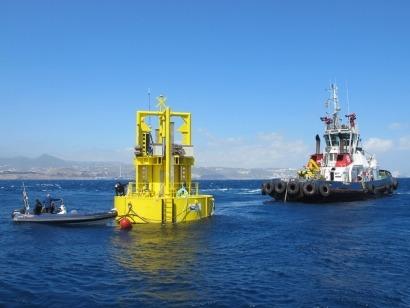 Comienzan en aguas canarias las pruebas del generador marino Undigen