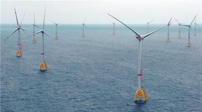 Iberdrola declara una inversión de 4 millones de euros por megavatio eólico marino en Wikinger