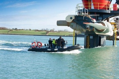 La bahía canadiense de Fundy acogerá una turbina de corrientes marinas de 2 MW