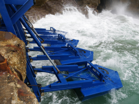 La ONU premia el proyecto de energía de las olas EWP. A su frente, una mujer: Inna Braverman