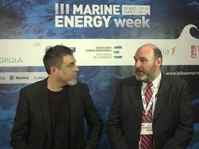 Entrevistamos a los protagonistas de la Marine Energy Week