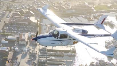 El avión híbrido de Ampaire empieza a volar