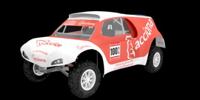 Acciona competirá en el rally Dakar con un coche eléctrico cero emisiones