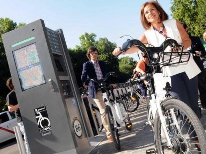 """Madrid estrena el """"primer sistema de bicicleta pública cien por cien eléctrica de Europa"""""""