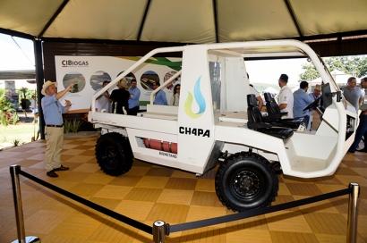 BRASIL: Nace el CH4PA, vehículo utilitario de carga movido a biometano