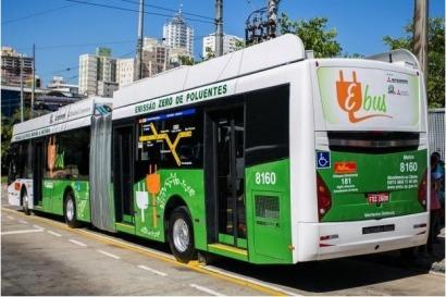 São Paulo: Comienza a rodar un ómnibus público eléctrico