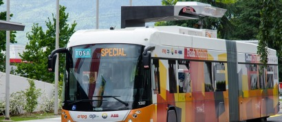 Ginebra tendrá autobuses eléctricos que recargarán sus baterías en 15 segundos